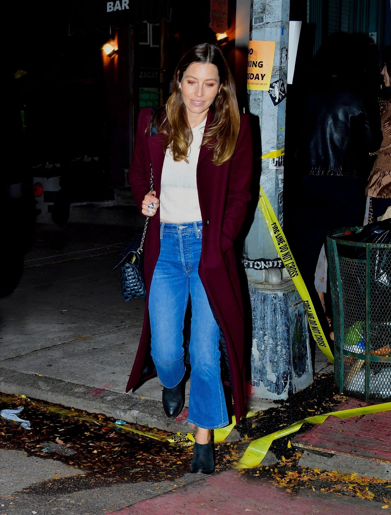 Jessica Biel - Out to Dinner in NYC 10/23/2019
