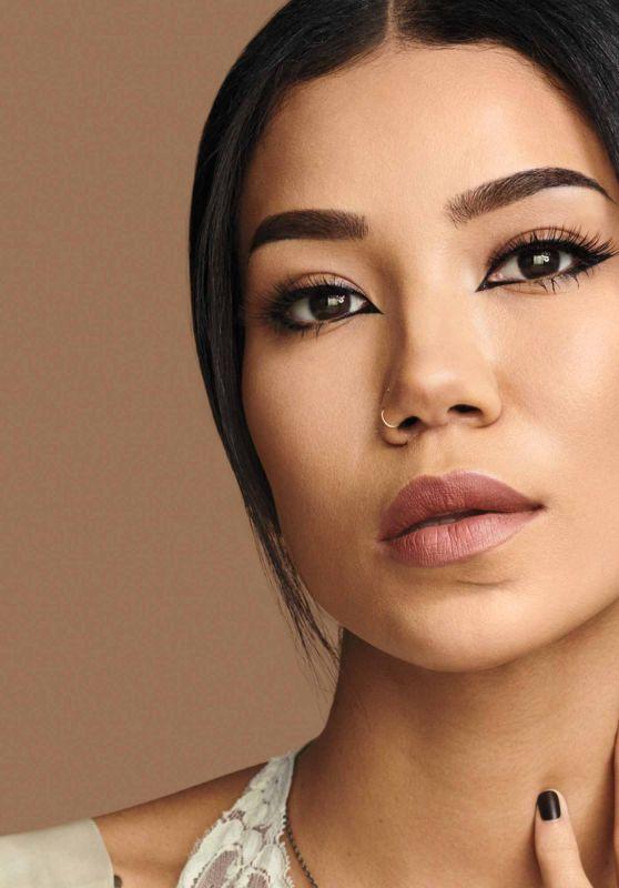Jhené Aiko - Kat Von D Beauty Photoshoot 2019