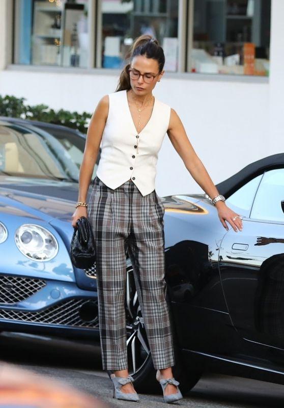 Jordana Brewster - Shopping in Beverly Hills 10/12/2019