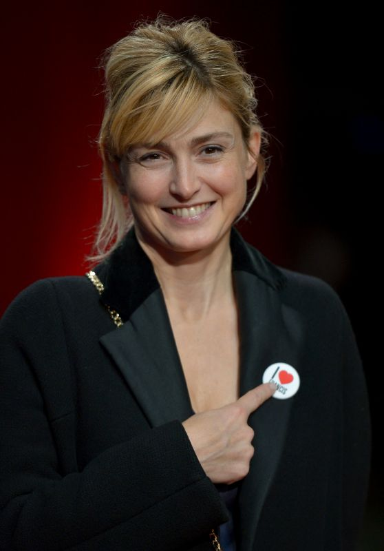 Julie Gayet - 11th Lyon Lumiere Festival Closing Ceremony