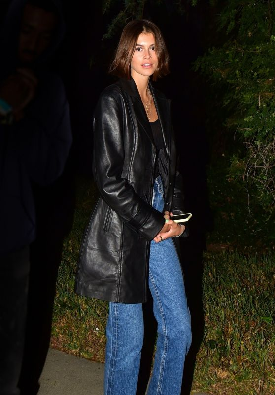 Kaia Gerber - Beverly Hills Mansion Celebrity Party 10/20/2019