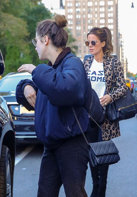 Kate Beckinsale and Lily Mo Sheen - Out in New York City 10/23/2019
