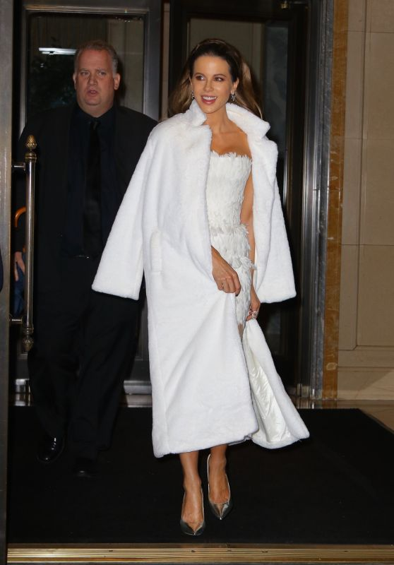 Kate Beckinsale - Leaving The Ritz-Carlton in NYC 10/22/2019