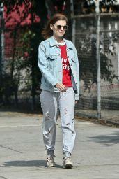Kate Mara Street Style - Los Angeles 10/27/2019