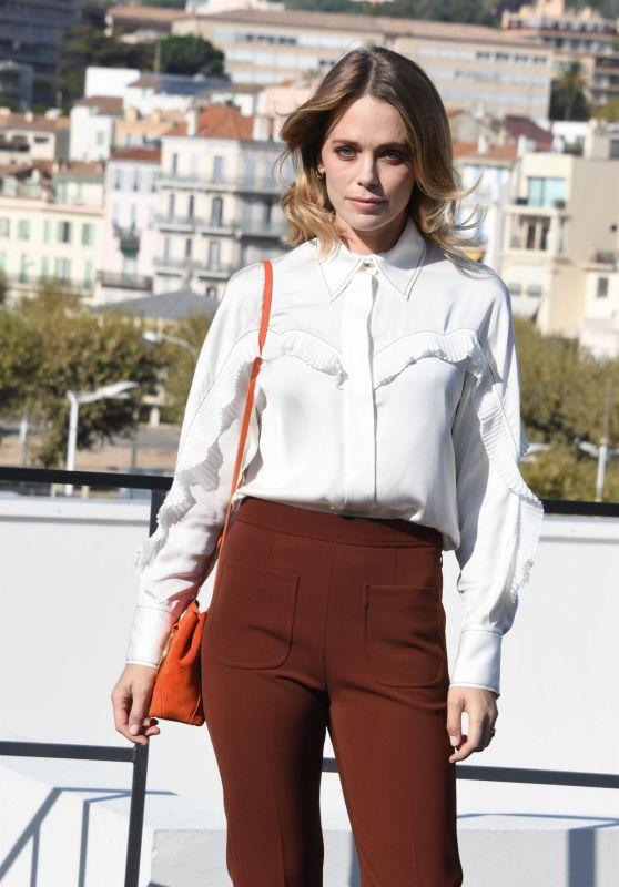 "Katia Winter - ""Agent Hamilton"" Photocall at MIPCOM 2019 in Cannes"