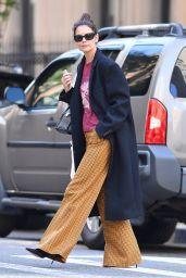 Katie Holmes Autumn Street Style 10/19/2019