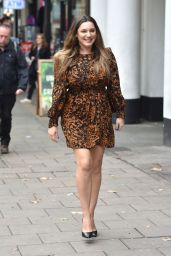 Kelly Brook - Arriving at Global Radio Studios in London 09/30/2019