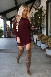 Khloe Kardashian - Plata Taqueria & Cantina in Agoura Hills 10/09/2019