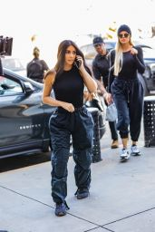 Kim Kardashian and Khloe Kardashian - Out in Los Angeles 09/30/2019