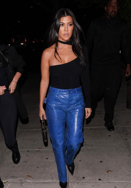Kourtney Kardashian Night Out Style 10/18/2019