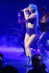 Lady Gaga - Performing on Stage at the Park Theater at Park MGM in Las Vegas 10/23/2019