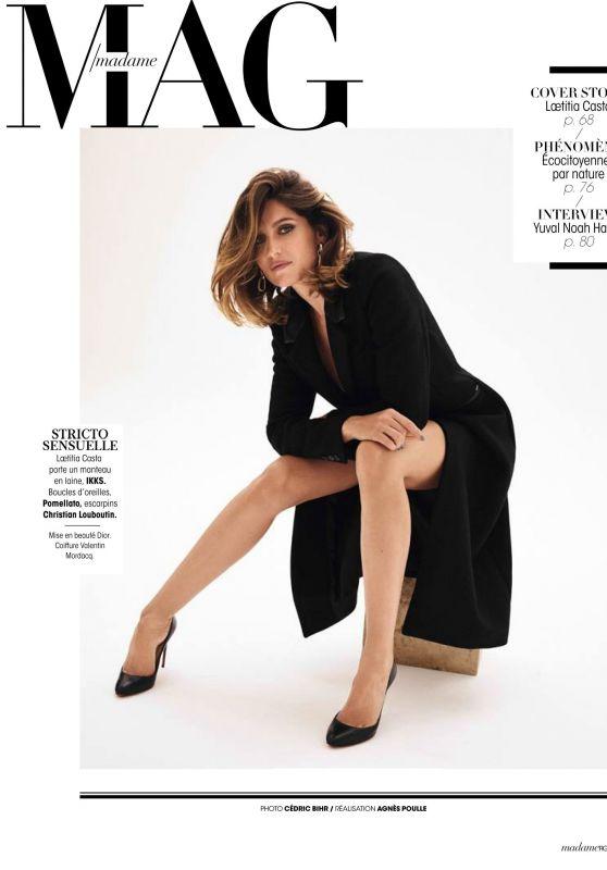 Laetitia Casta - Madame Figaro 10/18/2019 Issue