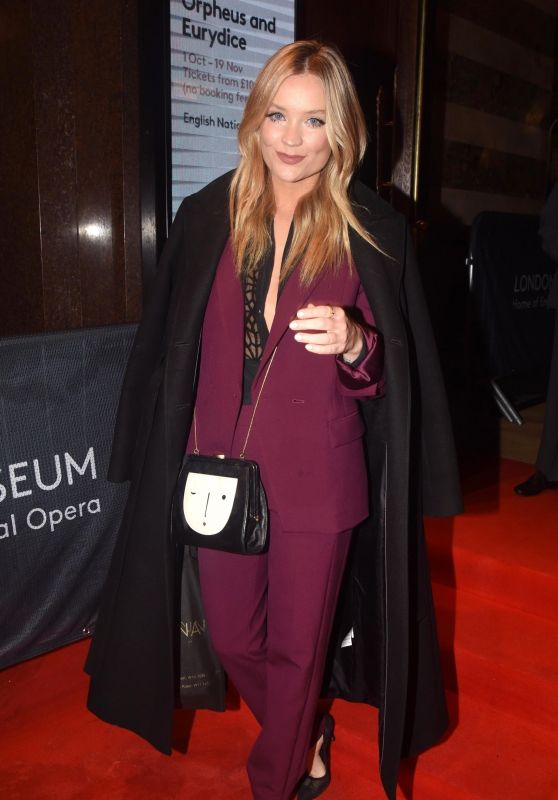 """Laura Whitmore – Opening Night of the Season Featuring a Performance of """"Orpheus and Eurydice"""" in London 10/01/2019"""