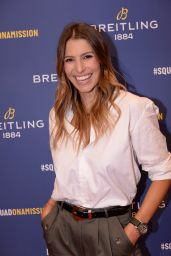 Laury Thilleman – Breitling Boutique Opening in Paris 10/03/2019