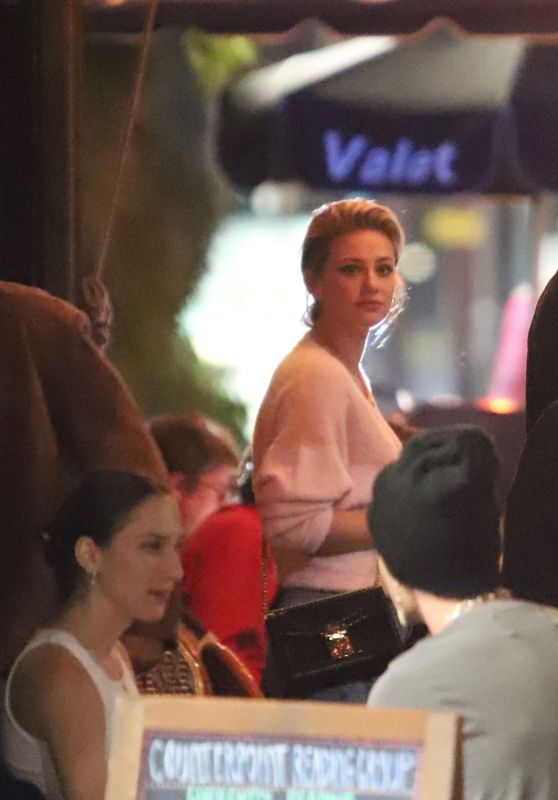 Lili Reinhart - Out for Dinner in LA 10/12/2019