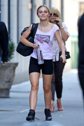 Lily-Rose Depp - After a Workout Session in New York 10/11/2019