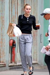 Lily-Rose Depp - Out in NYC 10/14/2019