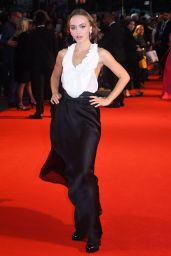 """Lily-Rose Depp - """"The King"""" Premiere at the BFI London Film Festival"""