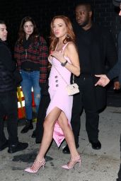Lindsay Lohan - Leaves the Playboy Club in NY