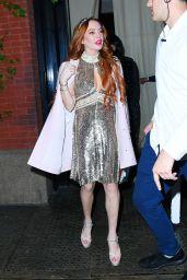 Lindsay Lohan Style - New York 10/25/2019