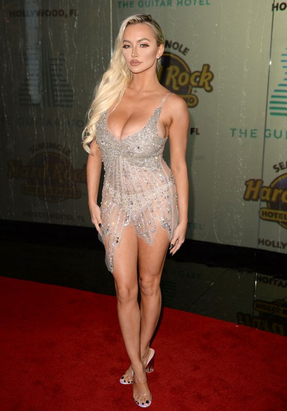 Lindsey Pelas – The Grand Opening of the Guitar Hotel in Hollywood 10/24/2019