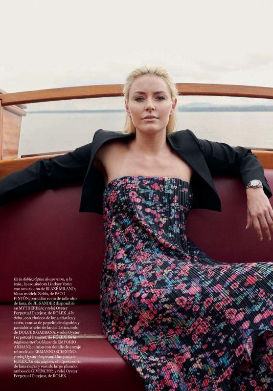 Lindsey Vonn - Vogue Spain November 2019 Issue