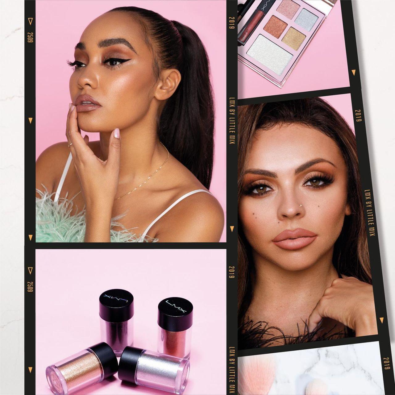 Little Mix \u2013 Photoshoot for \u201cLMX\u201d Cosmetics Range 2019 (more photos) \u2022 CelebMafia