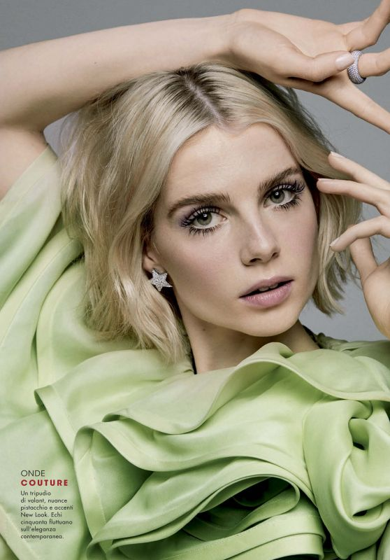 Lucy Boynton - Glamour Italy October 2019 Issue