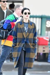 Lucy Hale Autumn Street Style - New York 10/16/2019