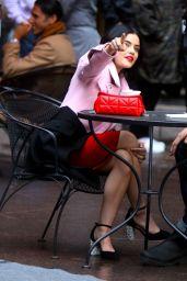"Lucy Hale - ""Katy Keene"" Set in Manhattan 10/10/2019"