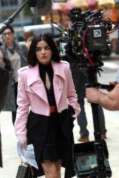 "Lucy Hale - ""Katy Keene"" Set in New York 10/16/2019"