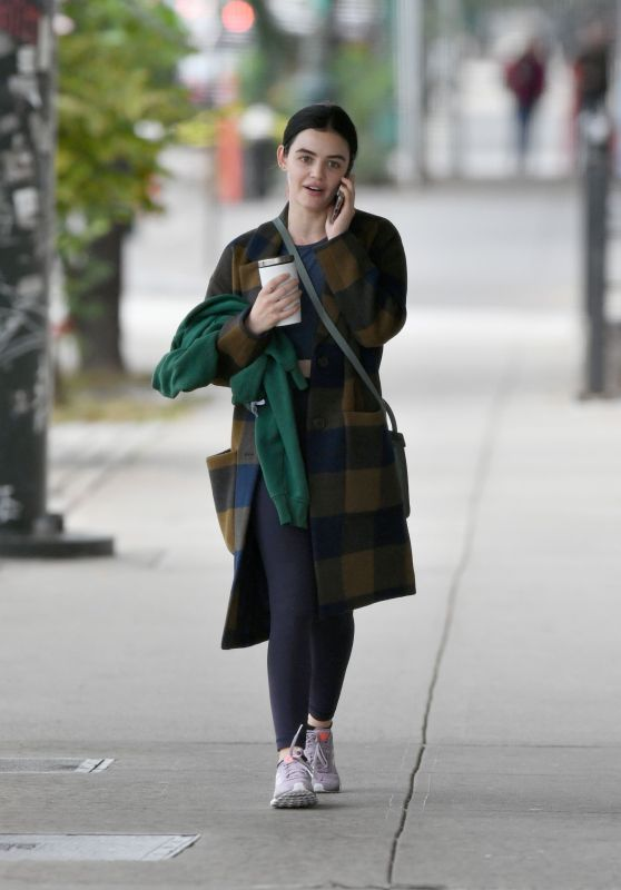 Lucy Hale - Leaving a Gym in NYC 10/06/2019