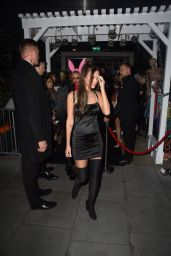 Lucy Watson – Leaving the HallowZeem Party in London 10/26/2019