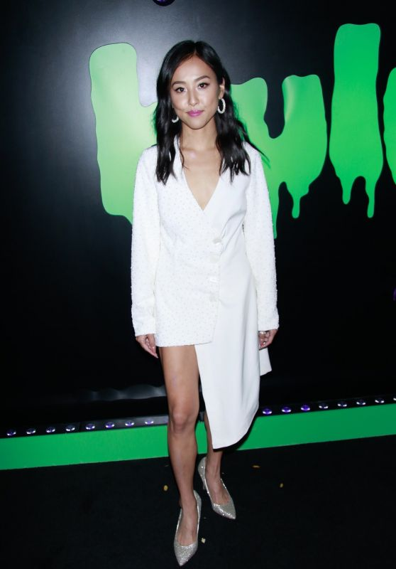 Lyrica Okano – Huluween Party at NYCC 10/04/2019