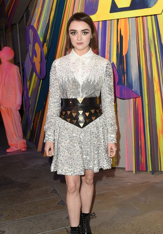 Maisie Williams – Louis Vuitton Maison Store Launch Party in London 10/23/2019