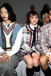 Maisie Williams - Thom Browne Fashion Show in Paris 09/29/2019