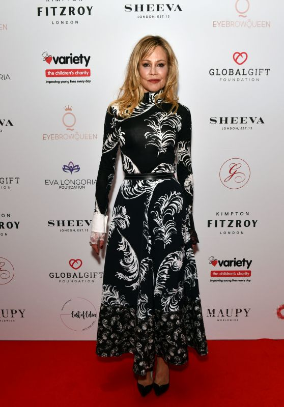 Melanie Griffith - The Global Gift Gala in London 10/17/2019
