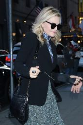 Michelle Pfeiffer - Arriving to Appear on Good Morning America in NYC 10/15/2019