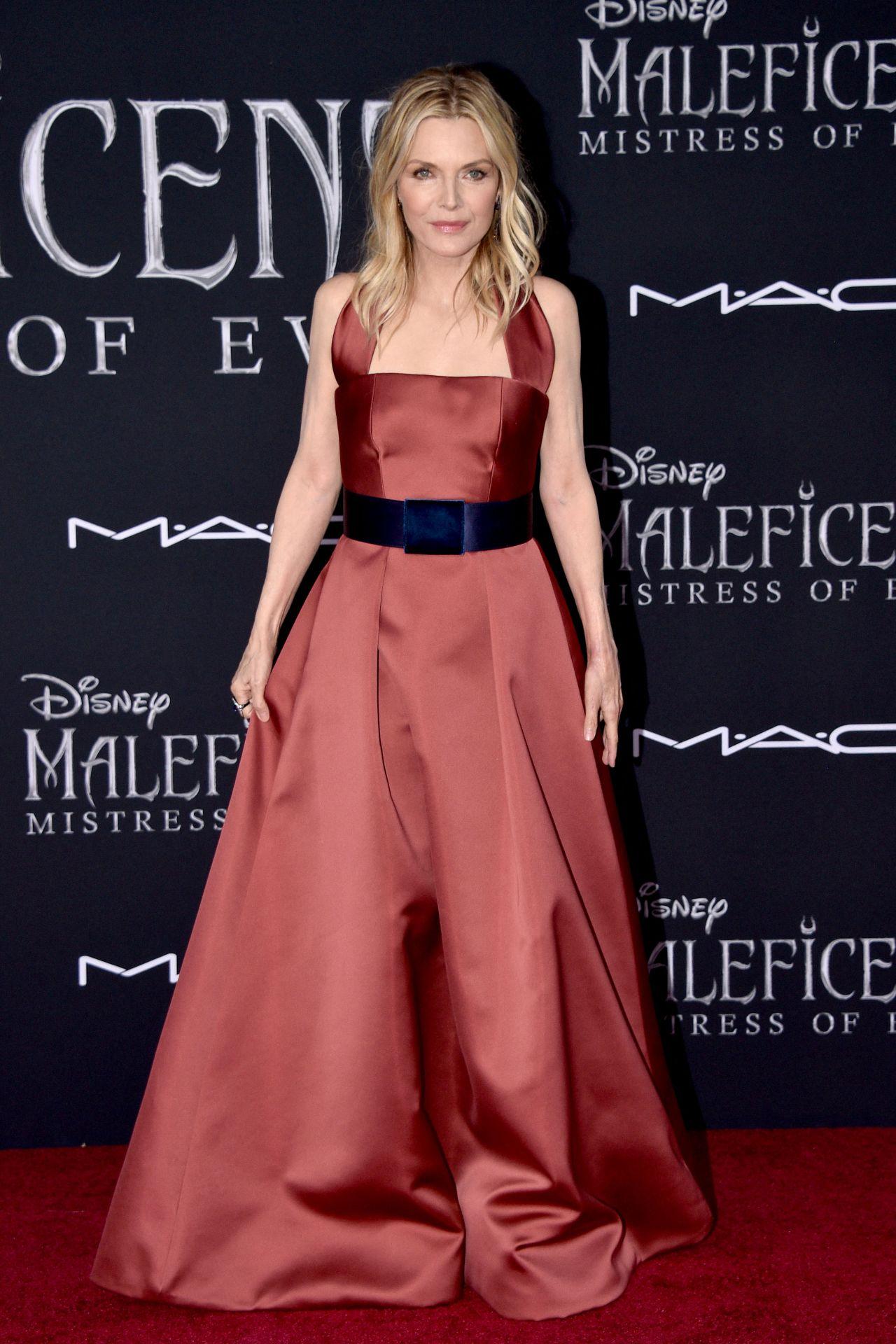 Michelle Pfeiffer Maleficent Mistress Of Evil Premiere