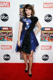 Milana Vayntrub - ABC and Marvel Honor Stan Lee in New York 10/07/2019