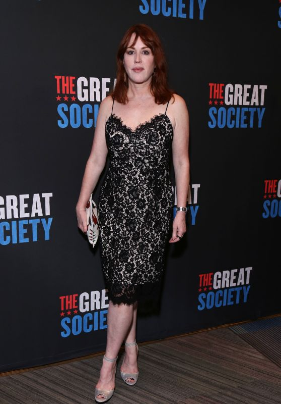 "Molly Ringwald - ""The Great Society"" Opening Night in New York 10/01/2019"