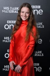 "Morfydd Clark - ""His Dark Materials"" TV Show Premiere in London"