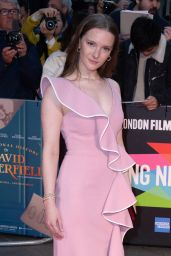 """Morfydd Clark – """"The Personal History of David Copperfield"""" Premiere at BFI London Film Festival"""