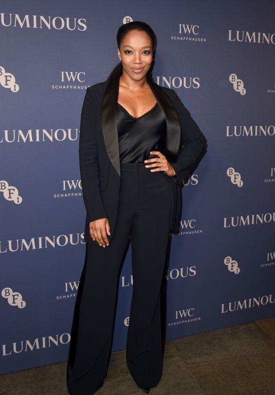 Naomi Ackie – BFI Luminous Fundraising Gala in London 10/01/2019