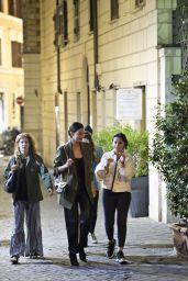 Naomi Scott and Lily Aldridge - Rome, Italy 10/09/2019
