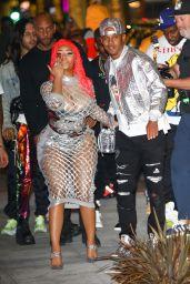 Nicki Minaj - Arriving to Her Fendi Launch in Beverly Hills 10/15/2019