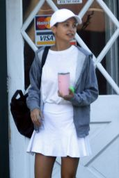Nicole Richie - Out for Some Tennis at the Brentwood Country Club 10/04/2019