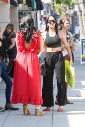 Nikki Bella and Brie Bella - Shop on Ventura Blvd in Studio City 10/14/2019