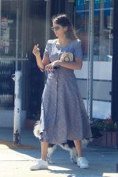 Nina Dobrev - Coffee Run in Hollywood 10/05/2019