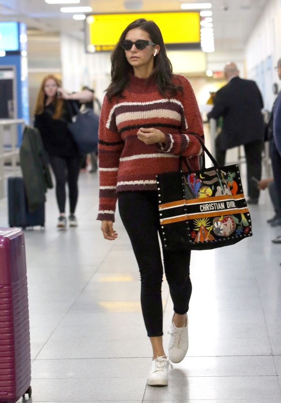 Nina Dobrev - JFK Airport in NY 10/06/2019